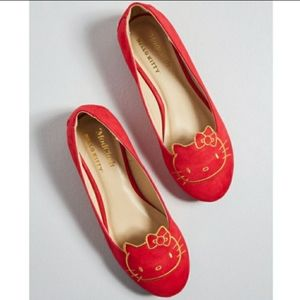 ModCloth for Hello Kitty Red Ballet Flats